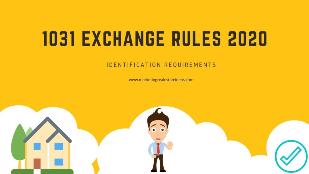 1031 Exchange Rules 2020