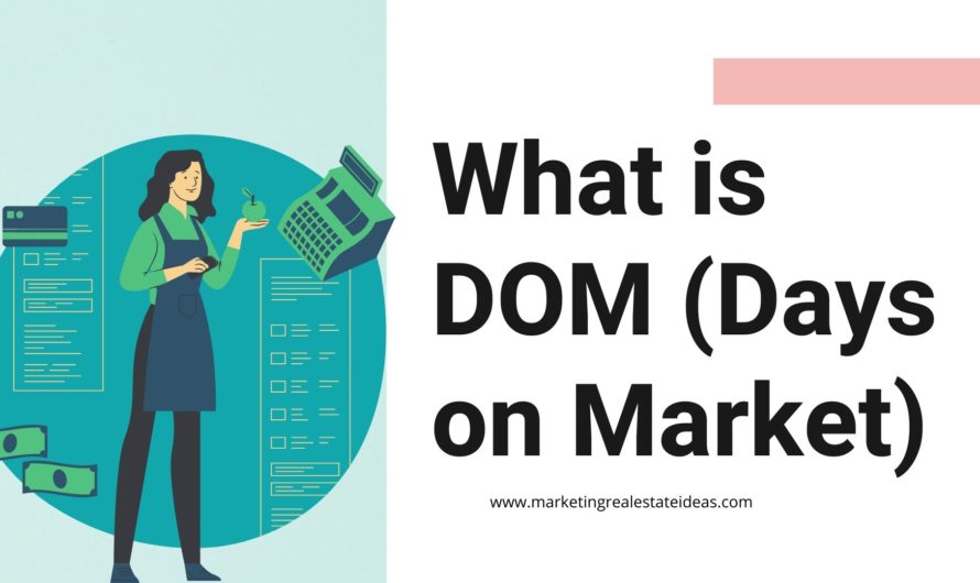 What is DOM (Days on Market) in Real Estate | What is CDOM