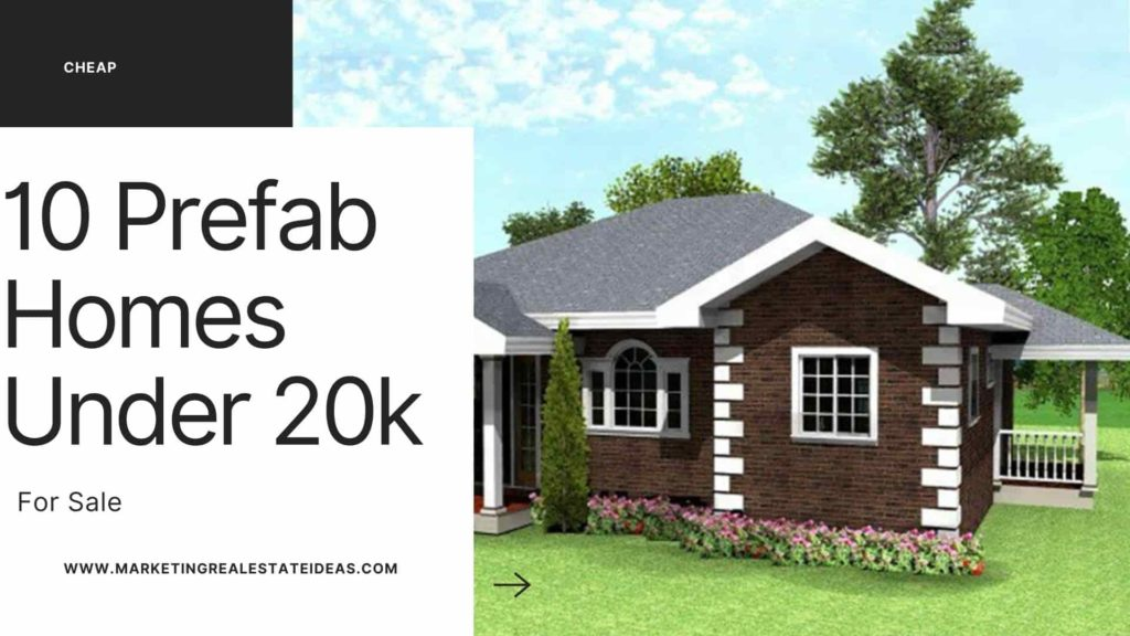 Prefab Homes Under 20k