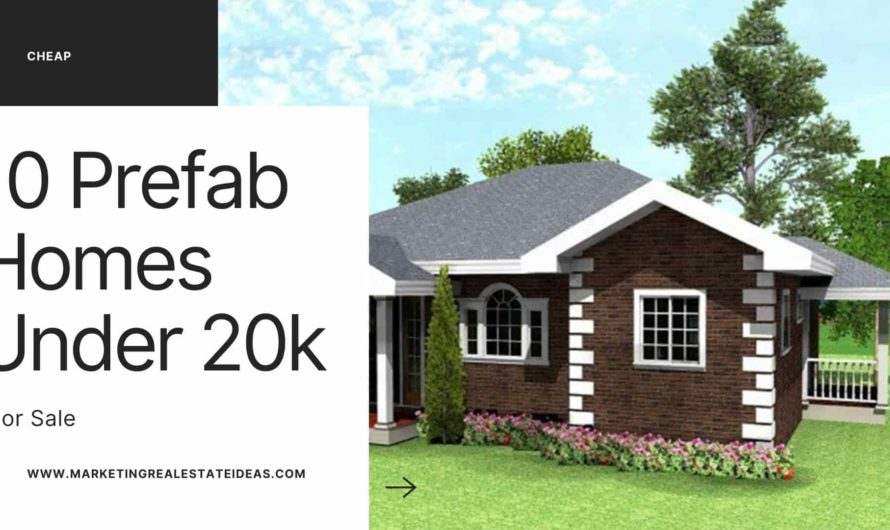10 Affordable Prefab Homes Under $20k For Sale Online Cheapest Rate