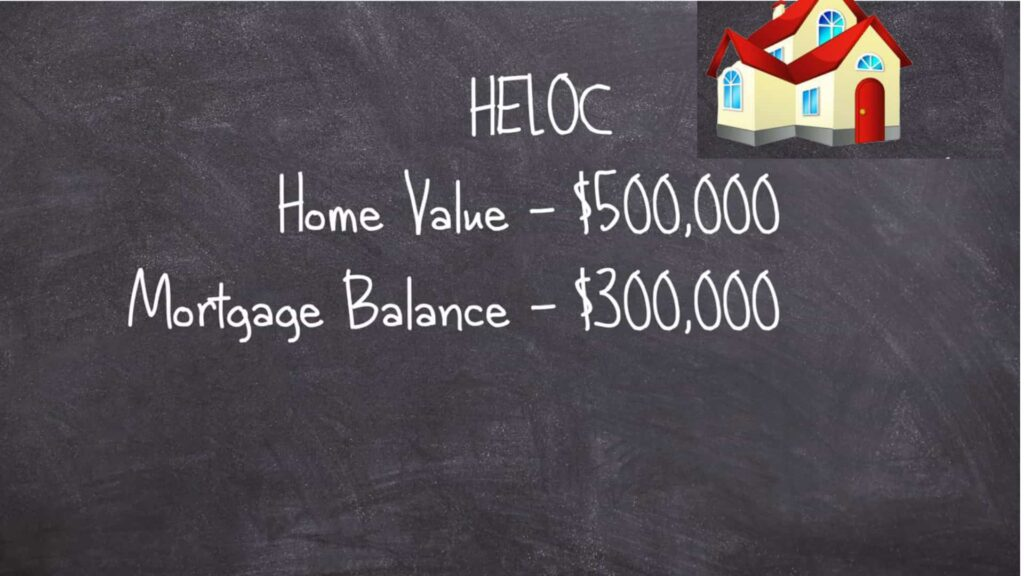 mortgage balance of roughly $300,000